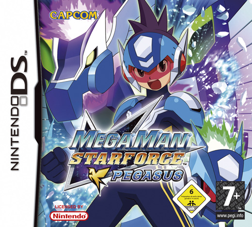 Mega Man Star Force: Pegasus (NDS)