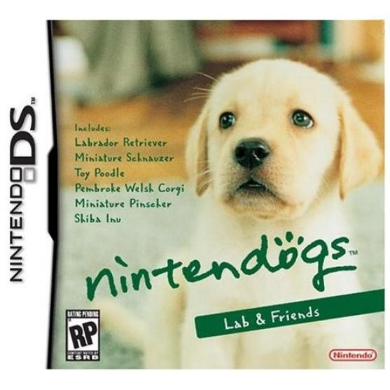 Nintendogs Labrador  Friends (NDS)