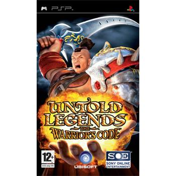 Untold Legends 2: The Warriors Code (PSP)